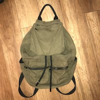 Urban outfitters green military canvas backpack Coquitlam