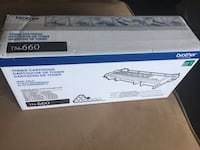 TN-660 Brother toner cartridge brand new, unopened. Original price at Staples $99.99 + tax. You can open & check it yourself before purchasing to make sure it's authenticity. Pick up only.  Ottawa, K2C 3E6
