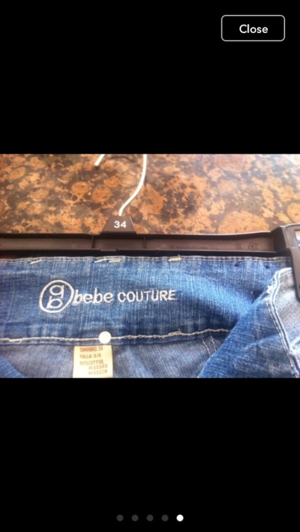 Bebé couture pants size 5/6 9769f9ae-61d8-4f1b-81e5-a7f1039be853