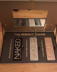 Urban Decay Naked 1, 2 and 3 (brand new)