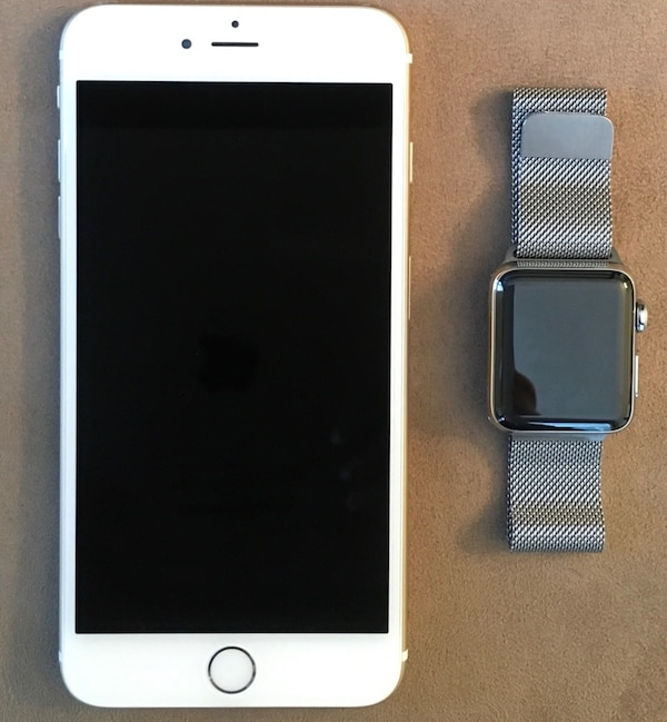new arrival 076ed 75049 Combo Apple Watch & iPhone 6 Plus Set