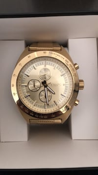 New Chaps/Fossil Gold watch for men Calgary, T3N 0R4