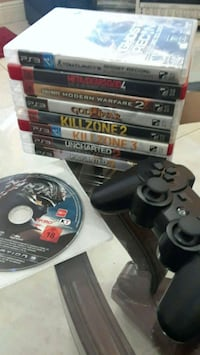 Playstation 3 games and controller. Miami Gardens, 33055