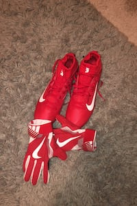 Cleats and Gloves