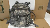 US Military MOLLE Assault Pack (ACU) w/ White Stiffener Board and Black Padding