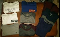 (9) AE Shirts - Men's Large Mount Airy, 21771