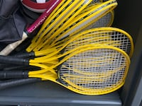 10 Used tennis rackets