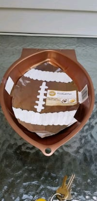 Wilton football cake pan