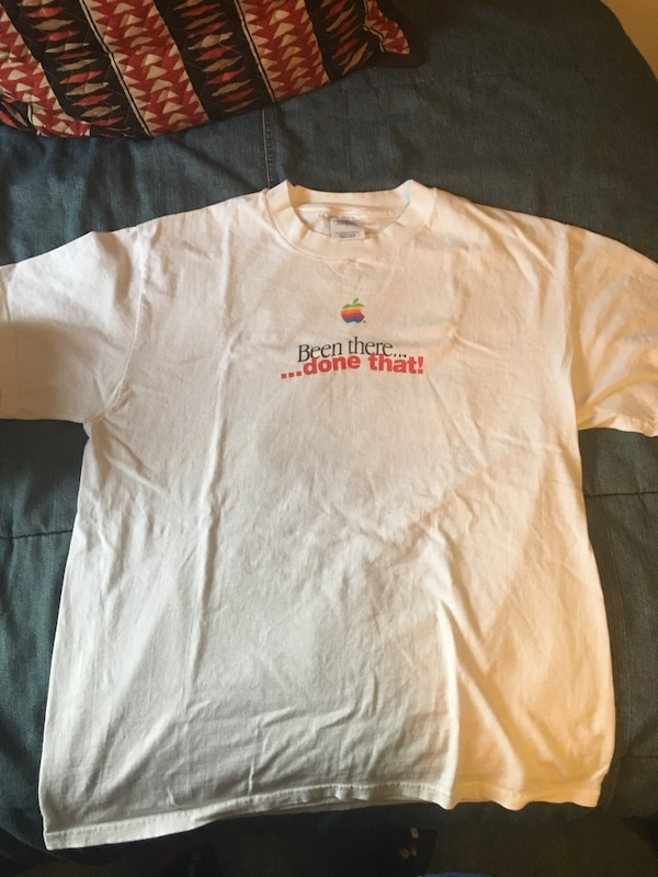 6614a48fe Used Vintage Apple Macintosh T Shirt for sale in Cold Spring Harbor ...