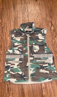 army fatigue muscle vest