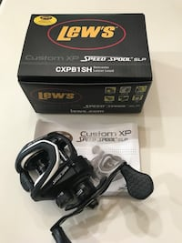 NEW Lew's Custom XP Speed Spool baitcaster fishing reel