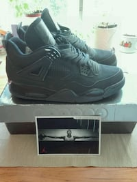 Nike Air Jordan 4 Blact Lt/ graphite aka Black Cat . size 42.5 uk 8 Grünerløkka, 0175