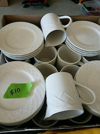 16 coffee mugs and saucers Clarksburg, 20871