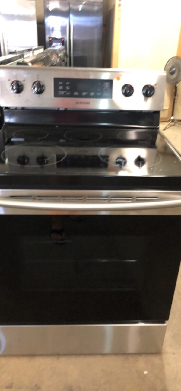 Used Samsung New Electric Range Guaranteed For Sale In
