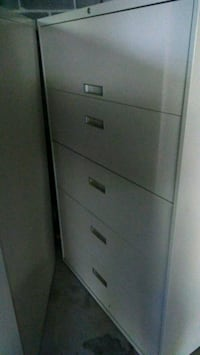 Steel Case 5 drawer Lateral Filing Cabinets Ephrata, 17522