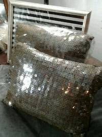 Gorgeous set of Two Sequined Pillows