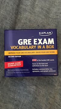 GRE EXAM vocabulary flash cards Toronto, M4W 2Z5
