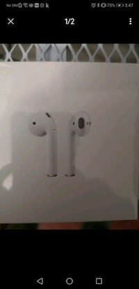 Mint condition *sealed* Official airpods gen 1  Scarborough, M1K