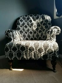 Blackand White Patterned Chair Ajax, L1S 2N8