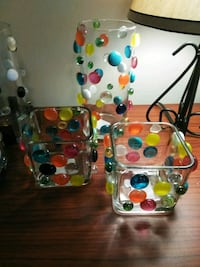 Crafty glass candle holders Virginia Beach, 23464