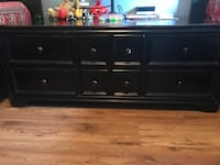 Black wooden coffee table Mississauga, L5M 3G1