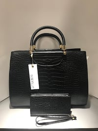 Black Crocodile Handbag Set  Warner Robins, 31098