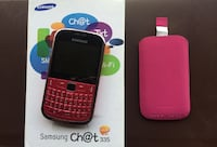 Cellulare Samsung Chat 335 GT-S3350 + Custodia Arese