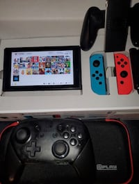 Nintendo Switch (Modded) Bundle 256GB *LIKE NEW* Black Friday Sale!