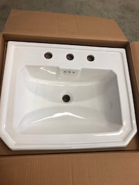 "Mirabelle 22"" Vanity sink Fox Lake, 60020"