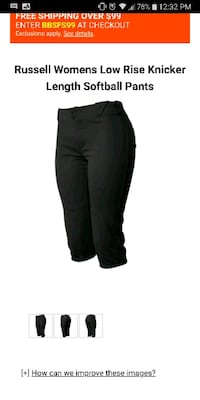 Russell womans Navy softball pants La Puente, 91744