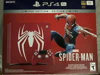 PlayStation 4 Pro Spider-Man Edition St Catharines, L2S 3C1
