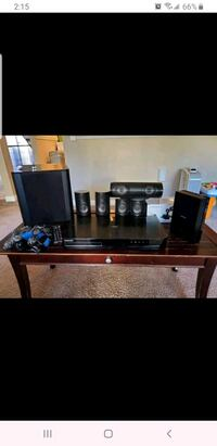 Samsung 5.1 channel home entertainment system