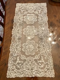 Embroidered Lace Overlay