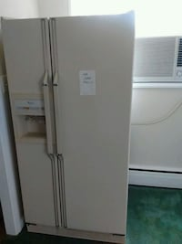 white side-by-side refrigerator with dispenser Fairfax, 22030