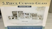 5-piece curved glass frame set package Boston, 02131
