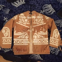fringe brown and white jacket Brownsville, 78521