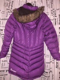 Lilla zip-up parka jakke Iveland, 4724