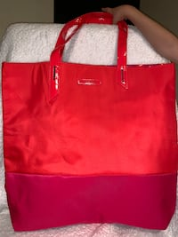 red and black leather tote bag Bloomfield, 07003
