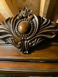 Brown wooden framed wall decor Frederick, 21703