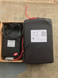 The new 48V 2000W li-ion battery is 30 amps 米西索加, L5V 1A2