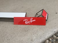 Ray ban , coach , tommy hilfiger displays
