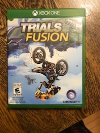 Xbox One Trials Fusion dirt bike game