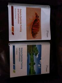 Structural pest control textbooks with exam date. Toronto