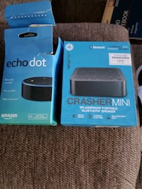 Echo and mini bluetooth speaker Winchester, 22602