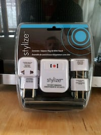 white Stylize power adapter set with pack London, N5W 3X8