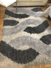 gray and black area rug Toronto, M9V 4P1