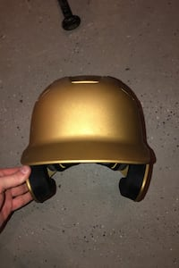 Easton Senior Batting Helmet-- Gold