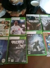 six Xbox 360 game with cases Los Angeles, 90037