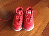 pair of red-and-white Under Armour sneakers Fairfax, 22033