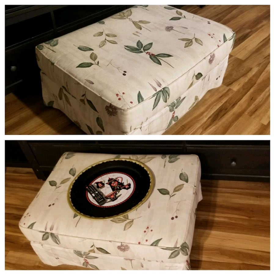 Coffee Table and Ottoman in one